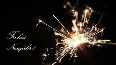 Frohes Neujahr!