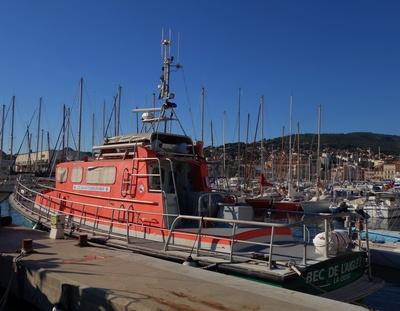Seenot-Rettungsschiff von La Ciotat