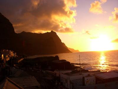 Sonnenuntergang auf St. Antao
