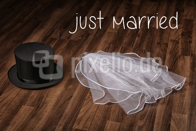 just married