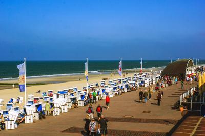 Strandpromenade in Westerland, Sylt