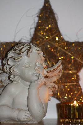 Weihnachtsengel und Stern