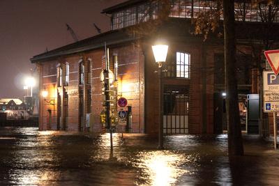 Sturmflut 2013 in Hamburg