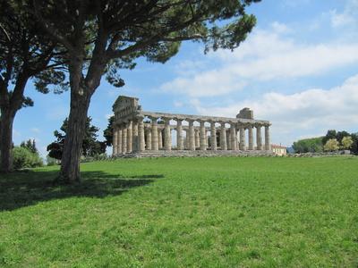 Tempel in Paestum