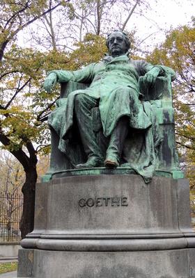 Goethedenkmal in Wien