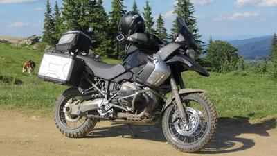 Motorrad Offroad Abenteuer BMW 1200GS