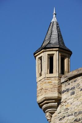 Schloss Dhaun, Detailstudie