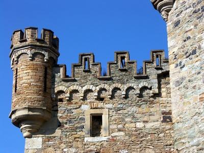 Schloss Dhaun, Detailstudie #6
