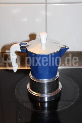 Eine Espressokanne