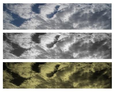 Wolken-Zusammenstellung