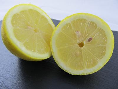 Aufgeschnittene Zitronen