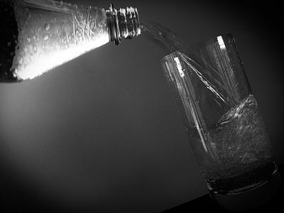 Glas Wasser ....