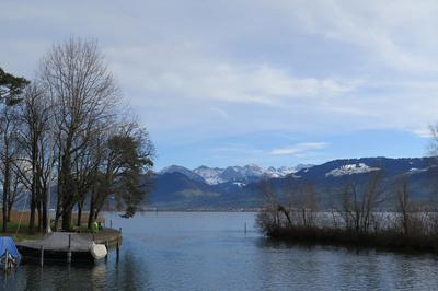 Zwischen Obersee und Zürichsee