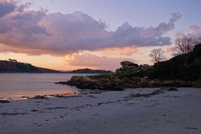 Tagesanbruch in Trébeurden, Bretagne