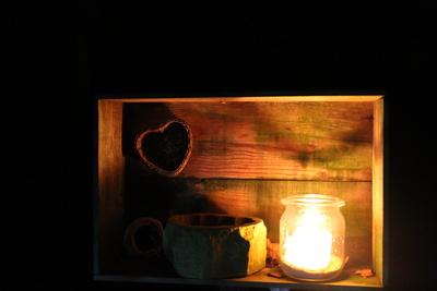Liebe zum Kerzenlicht