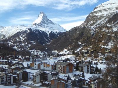 Touristendorf Zermatt