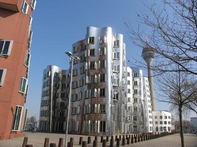 Gehry-Bauten in Düsseldorf