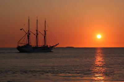 Segelschiff auf Wasser