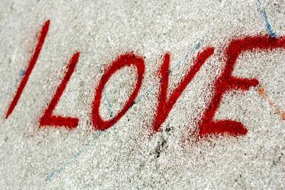 Graffiti / Verliebt sein