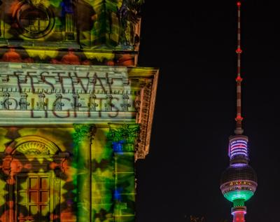 Berliner Leuchtimpression
