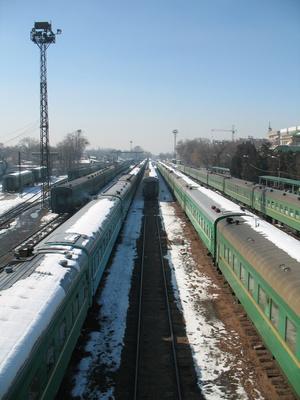Bahnhof Bischkek 2