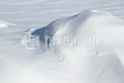 Schneeverwehung I