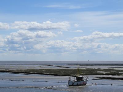 Schiff in der Nordsee