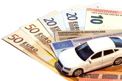 Autovermietung mit 150 Euro