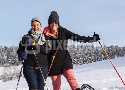 Schneeschuh-Wandern im Waldachtal 1