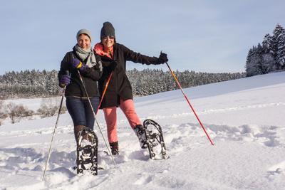 Schneeschuh-Wandern im Waldachtal 3