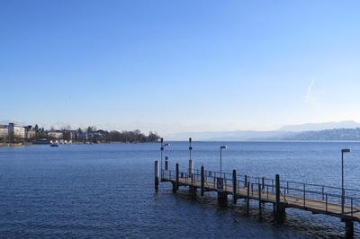 Am unteren Ende des Zürichsees