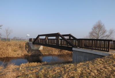 Eine Brücke für Radfahrer