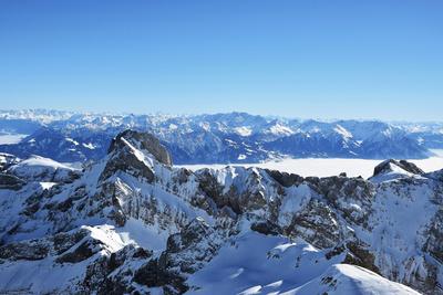 Der Altmann (2435 m) im Alpstein