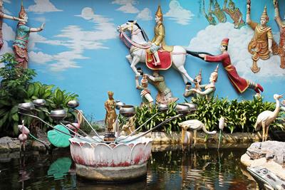 Tempelanlage Penang II