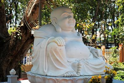 Zufriedener Buddha