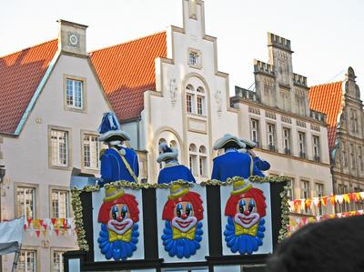 Karneval in Münster . . . .