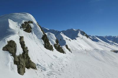 Auf dem Jakobshorn (2590 m)