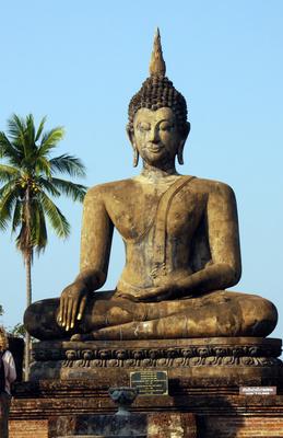 Buddha at Wat Mahathat, Sukhothai