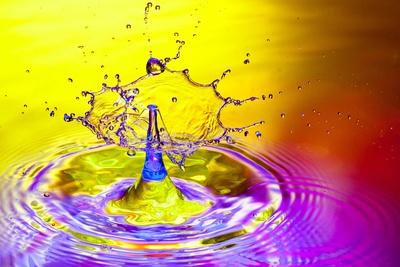 Wasserfarben ...