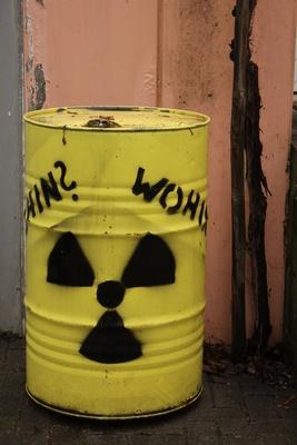 wohin mit radioaktiven müll