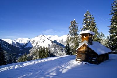 Kleine Hütte in den Lechtaler Alpen