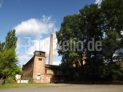 Eine alte Fabrik