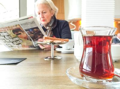 Lesepause und Tee