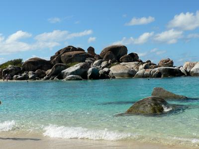 Karibik-Insel Tortola - The Bath