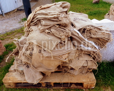 Sandsäcke - ungefüllt