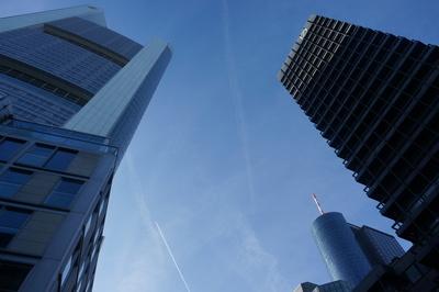 Commerzbank und Deutsche Bank, Frankfurt am Main
