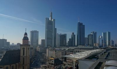 Skyline in Frankfurt am Main