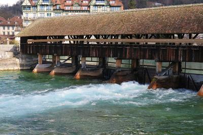 Thunersee-Schleuse / Seespiegel-Regulierung