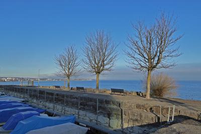 Winterruhe im Bootshafen