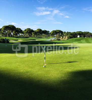 Putting-Green Montgomerie